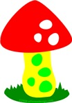 One Toadstool!