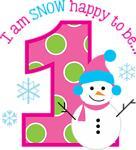 Snowman 1st Birthday