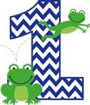 Frog 1st Birthday