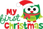 My First Christmas Owl