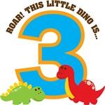 Dinosaur 3rd Birthday