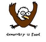 Occupy Wall Street Democracy is good eagle