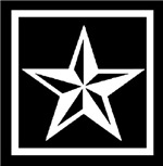 White Nautical Star
