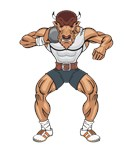 bison shotputter
