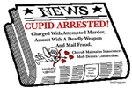 Cupid Arrested!