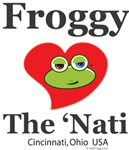 Froggy Loves The 'Nati!
