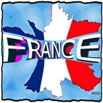 france holiday illustration art
