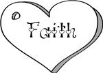 Faith Heart White - Young Women - Value - Heart