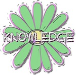 Knowledge - Young Women Value LDS YW Green Flower