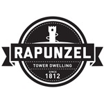 B&W Rapunzel Tower Dwelling Since 1812