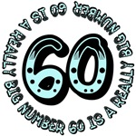 60th birthday, 60 is a really big number