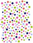 Colorful Star Pattern