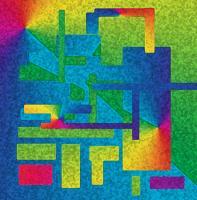 Bold Abstract Rainbow