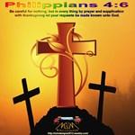 Philippians 4 : 6 Section