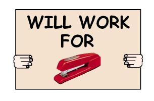 WILL WORK FOR RED STAPLER