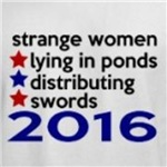 Strange Women Lying in Ponds