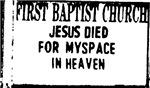 myspace jesus