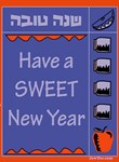 Sweet New Year Rosh Hashana Card