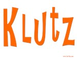 Yiddish Klutz