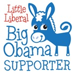 Little Liberal - Big Obama Supporter