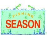 1265 Fishing Season Sign
