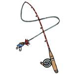 1287 Fishing Rod & Lure