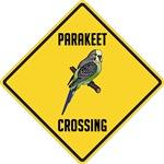 Parakeet Crossing Sign