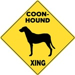 Coonhound Crossing Sign