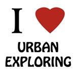 I 'Heart' Urban Exploring (black-logo)