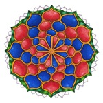Mandala of the Week #4 Vivian