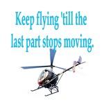 Keep on flyin' - heli