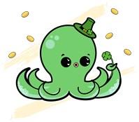 Octopus Leprechaun