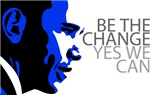 Obama - Change - Yes We Can - Blue