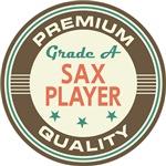 Saxophone Player T-shirts (Premium Quali