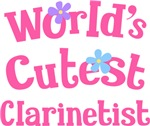 Worlds Cutest Clarinet T-shirt Gifts