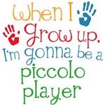 Future Piccolo Player Kids Music Tees