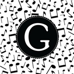 Music Monogram Letter G Gifts