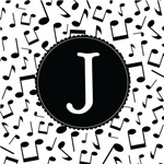 Music Monogram Letter J Gifts
