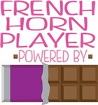 FRENCH HORN PLAYER powered by chocolate