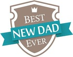 Best New Dad Ever mens t-shirts