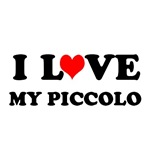 I Love My Piccolo T-shirts and Piccolo gifts