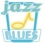 BLUES JAZZ T-shirts and Gifts