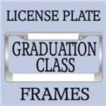 GRADUATION CLASS LICENSE PLATE FRAMES