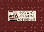 Santa Claus Music Christmas Gifts