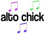 Alto Chick Music T-shirts