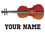 PERSONALIZED VIOLIN T-SHIRTS AND MUSIC TOTE BAGS