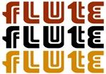 Flute Tri-Color T-shirts