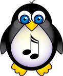 Penguin Music Lover Gifts and Apparel