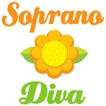 Soprano Diva T-shirts and Music Bags