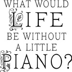 Funny Piano Music Quote T-shirts and Gifts
